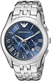 Emporio Armani Men's AR1787 Classic Analog Display Analog Quartz Silver Watch