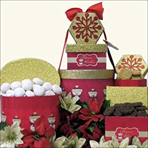 Holiday Sentiments: Christmas Holiday Gift Tower