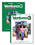 img - for Ventures Level 3 Value Pack (Student's Book with Audio CD and Workbook with Audio CD) book / textbook / text book