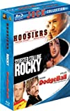 Image de Jock Collection (Dodgeball / Hoosiers / Rocky) [Blu-ray]