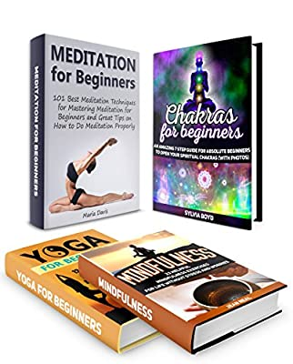 Mindfulness Box Set: 101 Amazing Meditation Lessons To Do Meditation Properly plus 23 Helpful Mindfulness Exercises and 12 Amazing Breathing Techniques ... Chakras For Beginners) (English Edition)