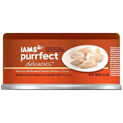 Iams Purrfect Delicacies Select Cuts With Roasted Chicken Entrée