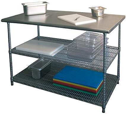 Arbeitstisch, 1300x690x880-900 mm, Fuße höhenverstellbar,