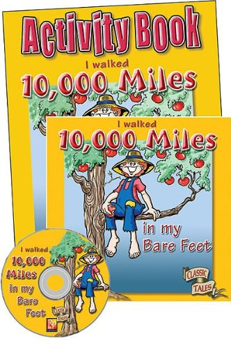 Remedia Publications 636E I Walked 10,000 Miles in My Bare Feet -Dealer Set
