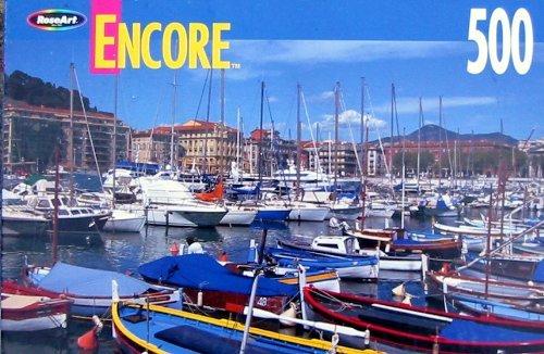 Encore 500pc. Puzzle-Cote d'Azur, France