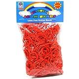 Loom Bandz - Rainbow Colours - Rot 600 Graf