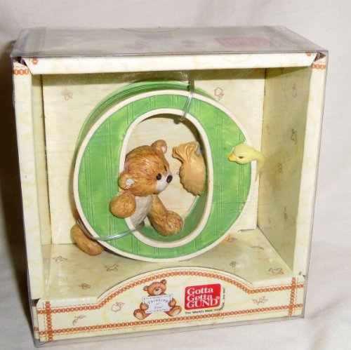 "Gotta Getta Gund Bears ""Thinking of You"" Letter O - 1"