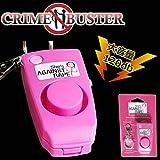 STARDUST 防犯 ブザー アラーム 大音量 120 db デシベル 子供 女性 高齢者 犯罪 ストーカー ひったくり 警報 キーホルダー SD-YY998