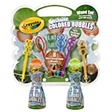 Crayola Colored Bubbles Wand Set ~ Crayola