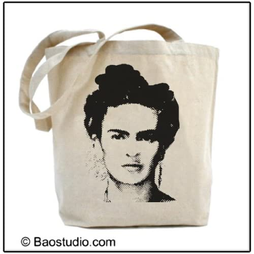 Amazon.com : Frida Kahlo - Eco Friendly Tote Graphic