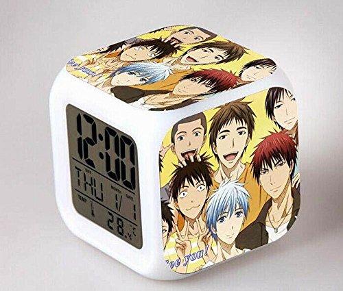 GUOHUA®Kuroko's basket Anime Cartoon création réveil coloré pour enfants réveil réveil numérique horloge analogique horloge lumineuse , # 2