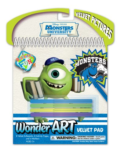 National Design Disney Monsters University Wonder Art Velvet Set