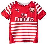 Arsenal Pre Match Jnr Shirt 2015 Red/Wht 30-32 inch