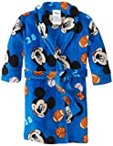 Mickey Mouse Baby-Boys Infant Fleece Robe, Blue, 18 Months