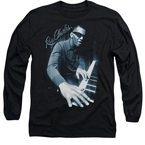 Long Sleeve: Ray Charles Blues Piano Shirt RC101LS