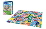 Peppa Pig Giant Snakes and Ladders Game.