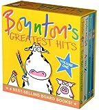 Boynton's Greatest Hits: Volume 1/Blue Hat, Green Hat; A to Z; Moo, Baa, La La La!; Doggies (Boynton Board Books)