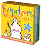 Boyntons-Greatest-Hits-Volume-1Blue-Hat-Green-Hat-A-to-Z-Moo-Baa-La-La-La-Doggies-Boynton-Board-Books