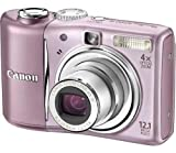 Canon PowerShot A1100 IS Digital Camera -Pink (12.1 MP, 4x Optical Zoom) 2.5 inch LCD