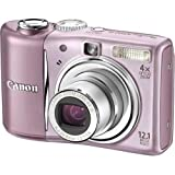 Canon PowerShot A1100 IS Digital Camera -Pink (12.1 MP, 4x Optical Zoom) 2.5 inch LCDby Canon