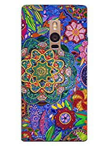Beautiful Art - Colourful Beads - Designer Printed Hard Back Shell Case Cover for OnePlus Two Superior Matte Finish OnePlus Two Cover Case