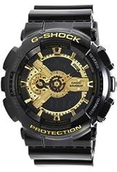 Casio G-Shock X-Large Skeleton Gold Dial GA110GB-1