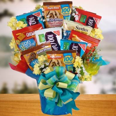 a healthier lifestyle healthy food gift basket birthday gift or office gift idea