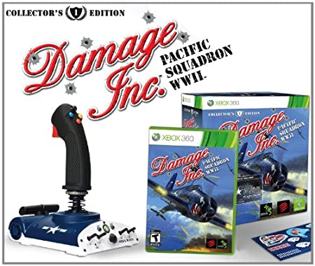 Damage Pacific Squadron WWII for Xbox 360 - Collectors Edition