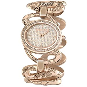 Just Cavalli R7253577507 Women's Sinous Silver Dial Watch