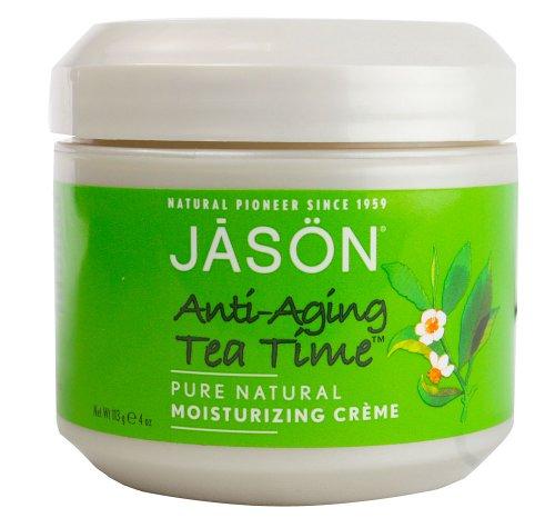 Jason Pure Natural Moisturizing Creme, Anti-Aging Tea Time, 4 Ounce