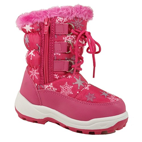 Toddler Girl Snow Boots Size 11 | Santa Barbara Institute for