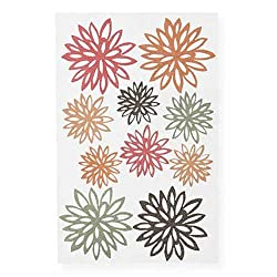 Martha Stewart Crafts Stickers, Glittered Fall Chrysanthemum
