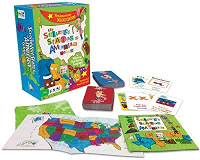 Scrambled States by Gamewright