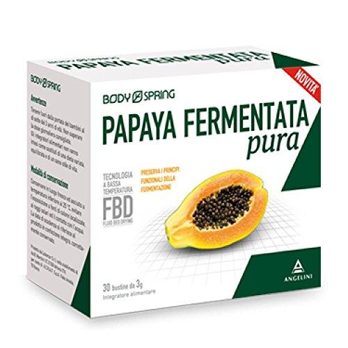 Angelini Body Spring Papaya fermentata pura 30 bustine