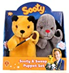 The Sooty Show Sooty and Sweep Puppet...