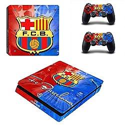 AL Pacino FCB Barcelona Theme Console Cover for Ps4 SLIM MODEL