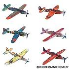 Rhode Island Novelty 8 Flying Glider Plane Set