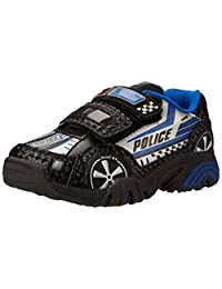 Stride Rite Vroomz Light-Up Police Car Running Shoe (Toddler/Little Kid)