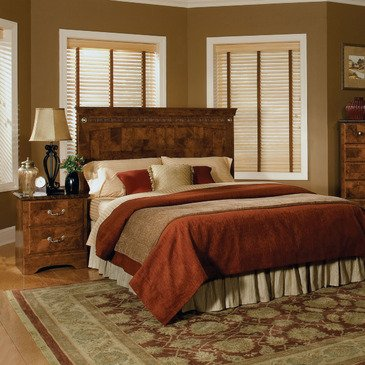 Standard Furniture San Miguel 2 Piece Bedroom Set in Lafayette Oak