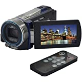 "Ckeyin® Full HD Flash Camcorder DV Digital Video Camcorder Camera (16 megapixels (16Mp), 10x optical zoom, 10x digital zoom, Swiveling 7.62 cm / 3.0"" touchscreen display, IR Night Vision, Motion Detection Timer Shooting, Li-ion high-performance battery, HDMI) + Remote Control"