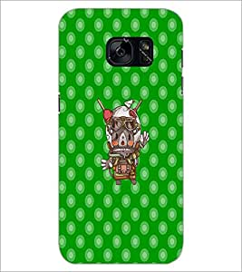 PrintDhaba Cartoon D-3620 Back Case Cover for SAMSUNG GALAXY S7 (Multi-Coloured)