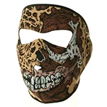 Neoprene Full Face Mask - Road Rash