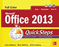 Microsoft Office 2013 QuickSteps, 3rd Edition