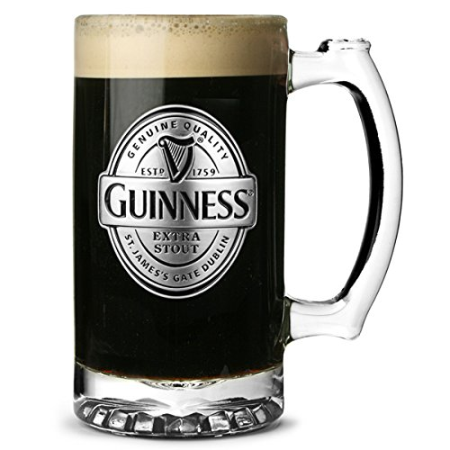 guinness-tankard-with-pewter-logo-176oz-500ml-guinness-beer-tankard-guinness-beer-stein-guinness-bee