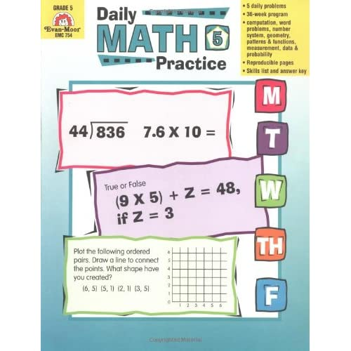 Daily Math Practice, Grade 5