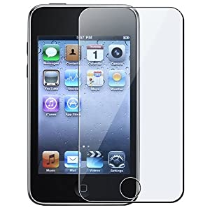 eforCity Full Front LCD Screen Protector for Apple iPod touch 1/2/3