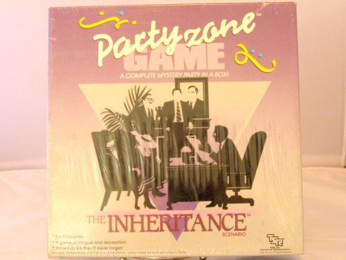 Party Zone Game The Inheritance Complete Mystery Party In a Box by TSR, Inc.