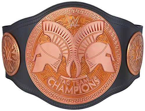 Official WWE Authentic Unisex WWE Tag Team Championship Replica Title Belt (2014)  One size Multicoloured