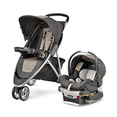 Chicco-Viaro-Stroller-Travel-System-Teak
