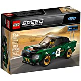 LEGO Speed Champions 1968 Ford Mustang Fastback 75884 Building Kit (183 Piece)